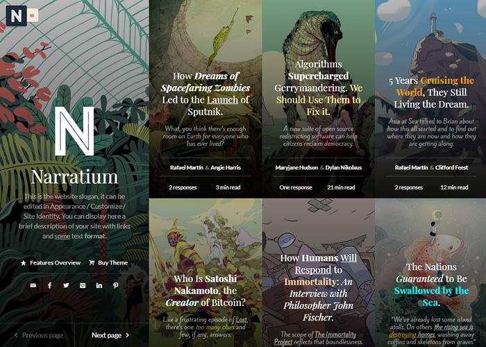 Narratium - Simplicity for authors