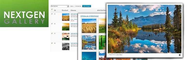 NextGEN Gallery — WordPress Gallery Plugin