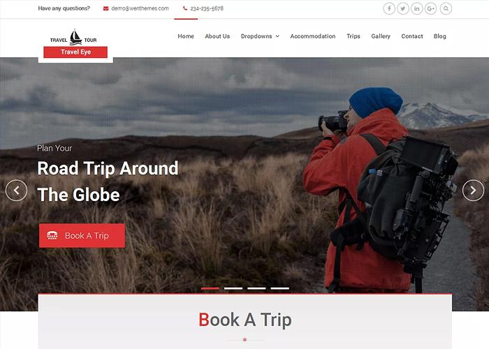 Theme Travel Eye