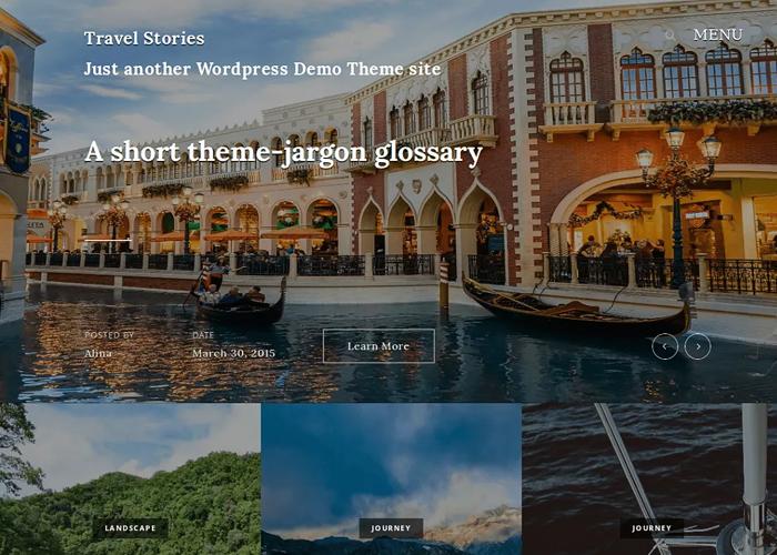 Theme Travel Stories