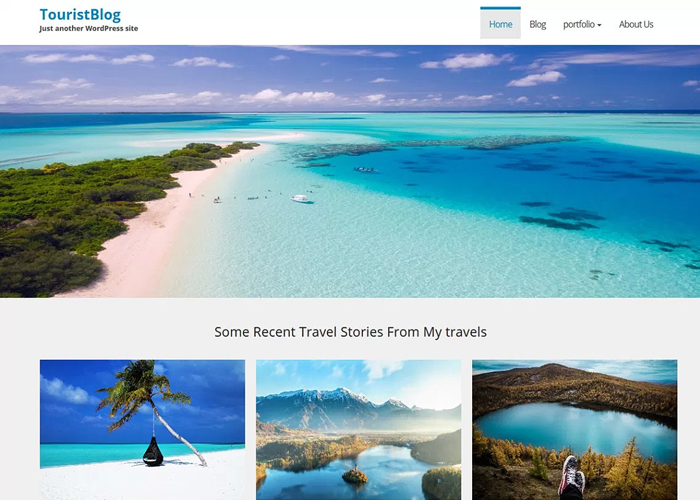 Theme TouristBlog