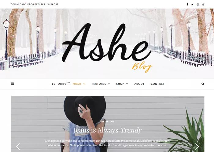Theme Ashe