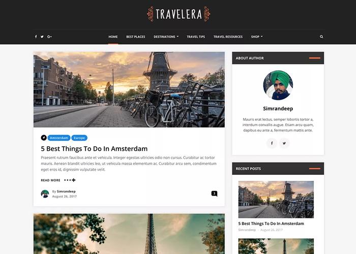 Theme Travelera Lite