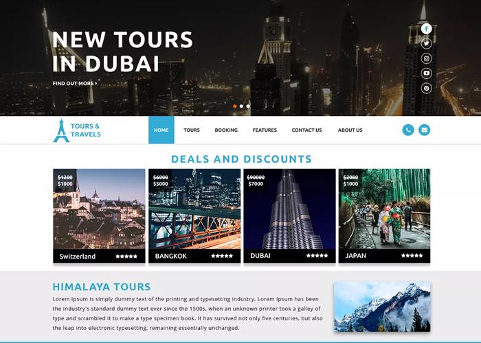 Theme Luxury Travel