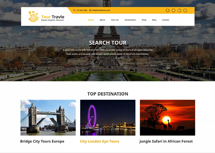 Theme Tours and Travels