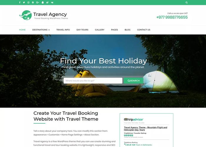Theme Travel Agency
