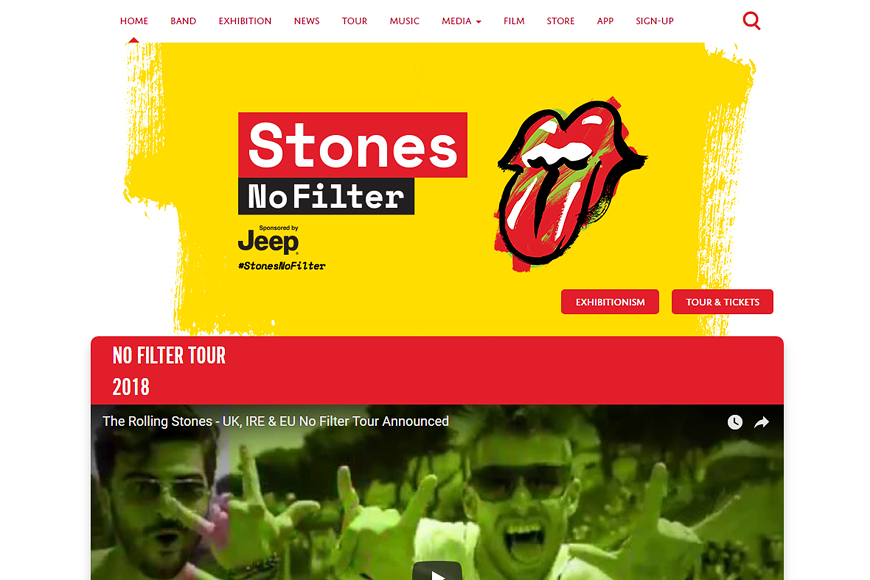 Site The Rolling Stones