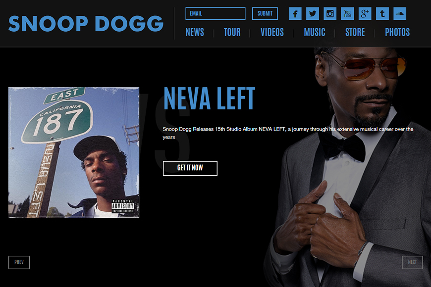Site Snoop Dogg