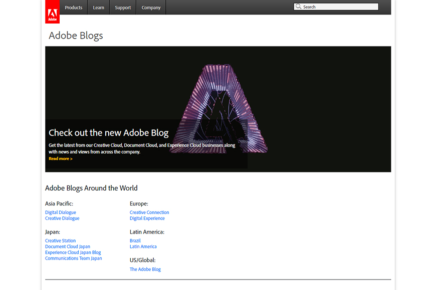 Site Adobe Blogs