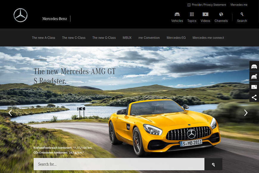 Site Mercedes-Benz