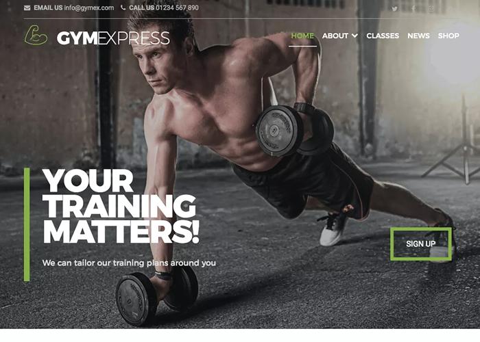 Theme Gym Express