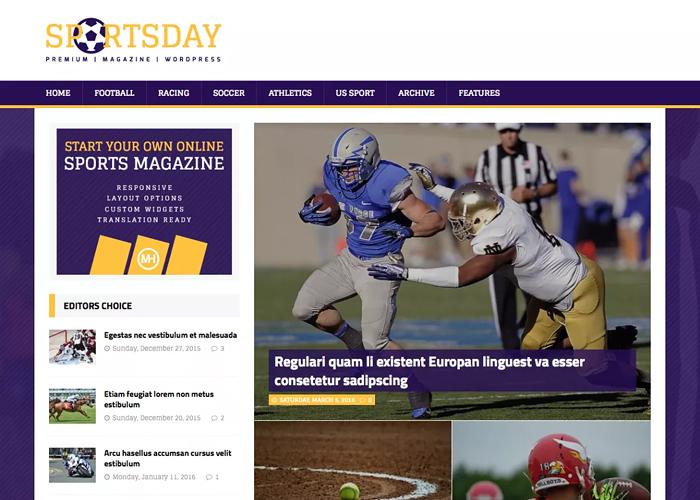 Theme MH SportsMagazine