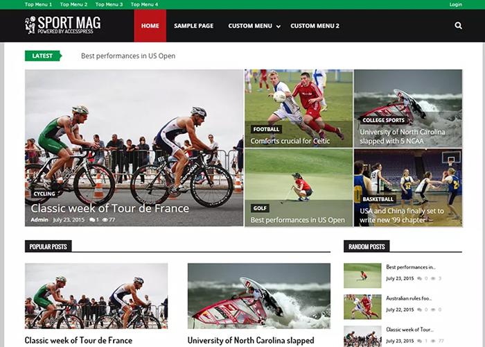 Theme SportsMag
