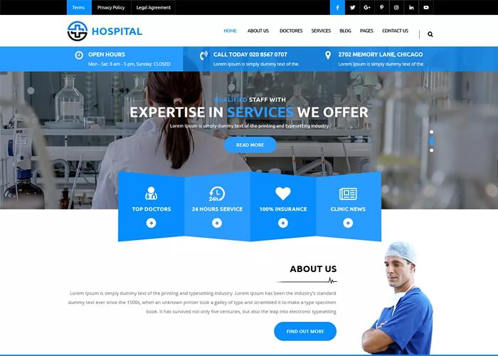 Тема Medical Hospital