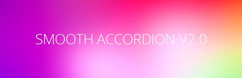 Плагин Smooth Accordion