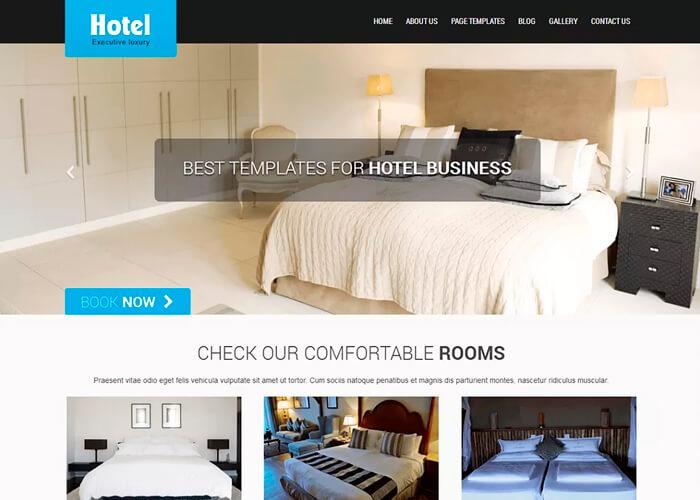 Тема SKT Hotel Lite