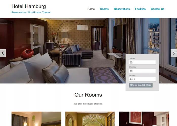 Тема Hotel Hamburg