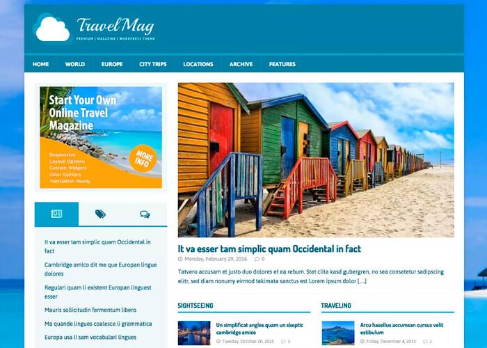 Тема MH TravelMag