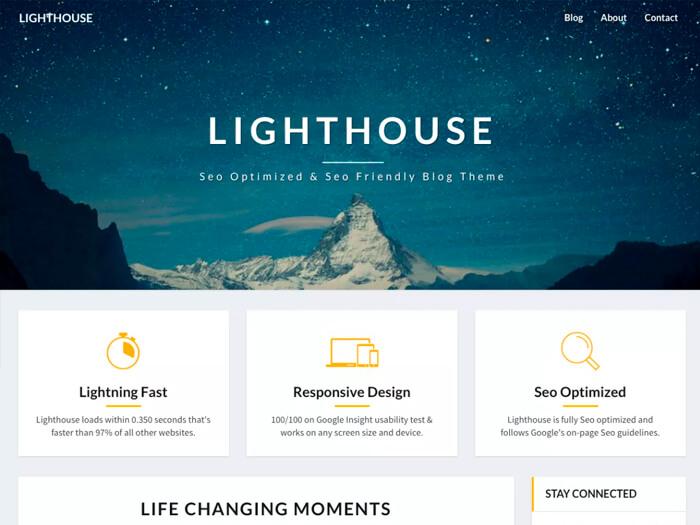 Тема Lighthouse