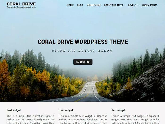 Тема Coral Drive