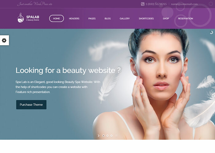Spa Lab | Beauty Spa, Health Spa Theme