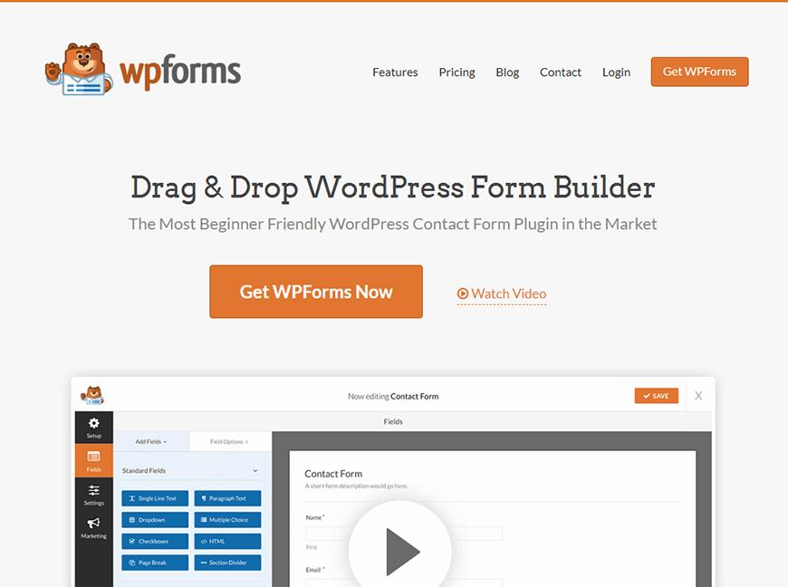 Добавление контактной формы в WordPress