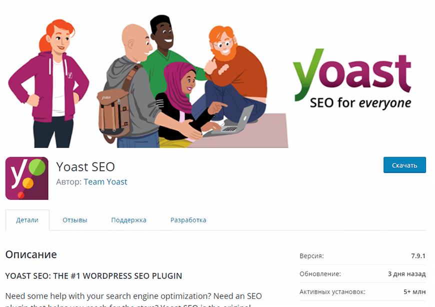 Настройка WordPress SEO