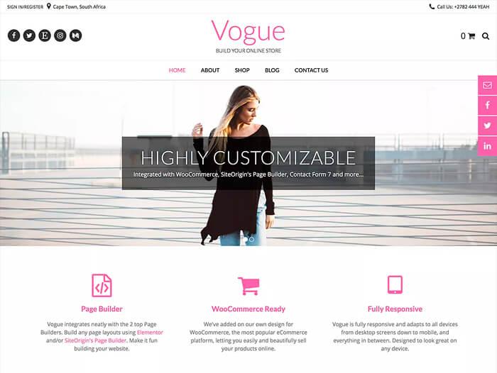 Тема Vogue