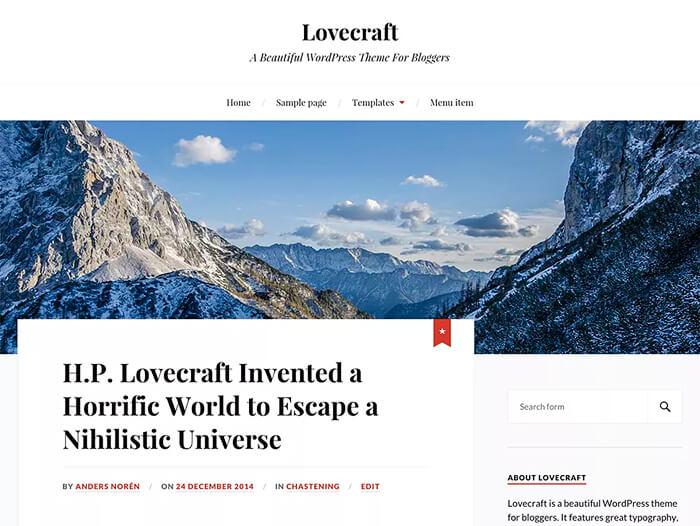 Тема Lovecraft
