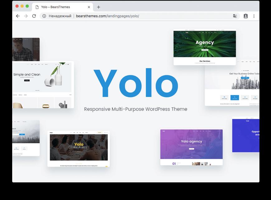 Yolo | Multi-Purpose Creative WordPress Themes