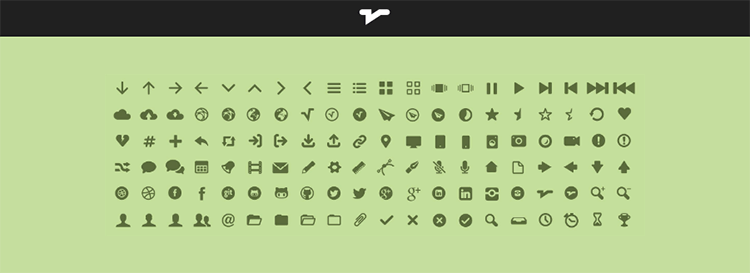Icon Font MFG Labs