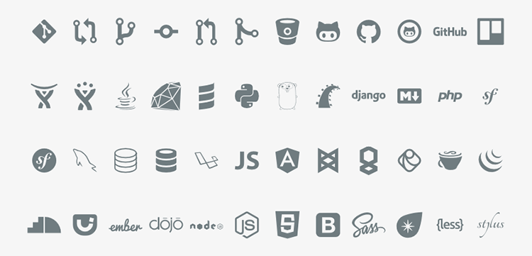 Icon Font Devicons