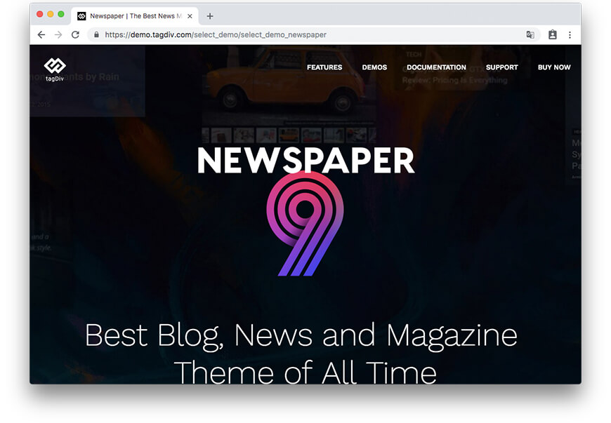 Theme Newpaper