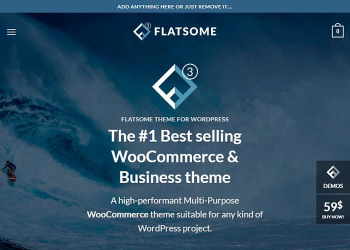 Flatsome   Multi-Purpose Responsive WooCommerce Theme WordPress