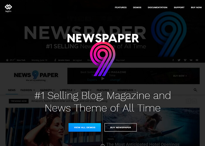 Newspaper Theme WordPress