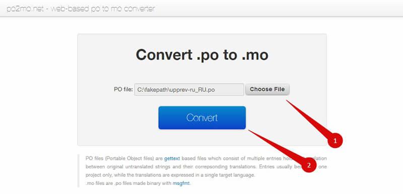 Сервис конвертации языковых файлов