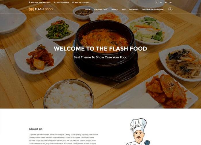 WordPress Theme Flash