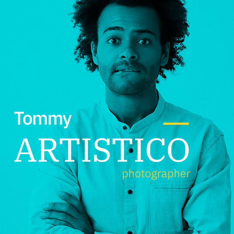 WordPress шаблон Tommy Artistico - Photographer Gallery Elementor